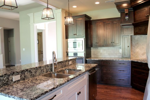 1101 Shallow-kitchen island